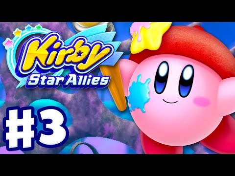 Kirby Star Allies - Gameplay Walkthrough Part 3 - Jambastion 100%! (Nintendo Switch)