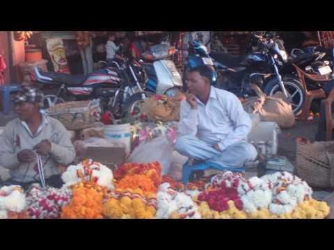 Rikscha fahrt von Jaipur, Indien