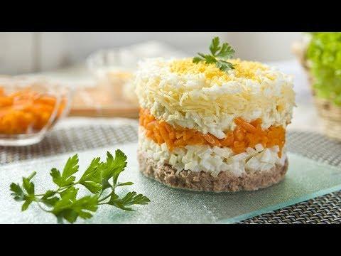 Салат Мимоза классический рецепт приготовления!