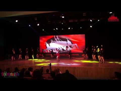 Ezgi Zaman Ladies Style Show Team Dance Performance | IIDF 2016