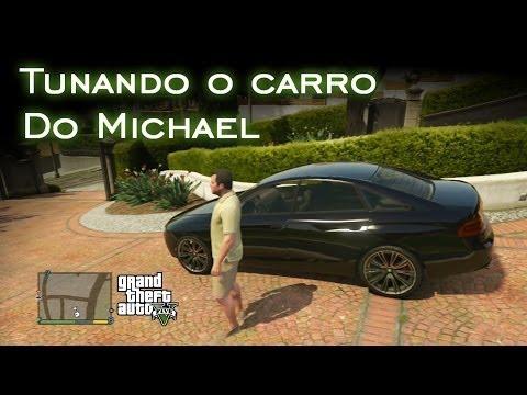 Tunando o carro do Michael | GTA V [PT-BR]