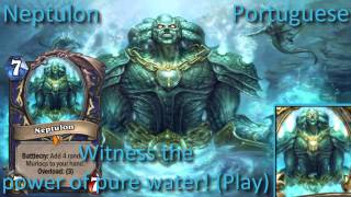 Neptulon card sounds in 12 languages -Hearthstone ✔