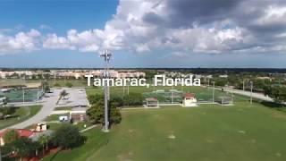 Parrot Bebop 2 Drone - Aerial View of Tamarac, Florida