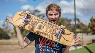 CAN WE BREAK THE BAMBOO SKATEBOARD? | YOU MAKE IT WE SKATE IT EP.
