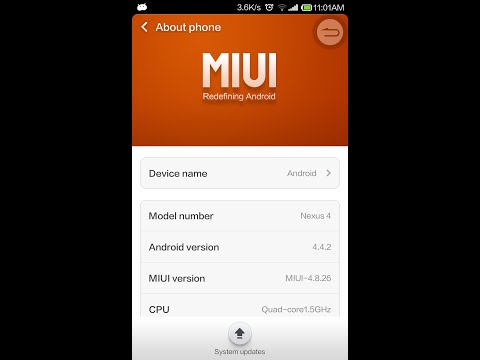 MIUI v5 on Nexus 4 - MOST Beautiful Android ROM