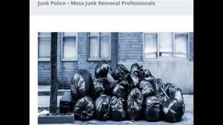 Junk Police - Mesa Junk Removal Professionals