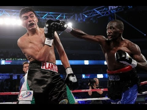 Undefeated Terence 'Bud' Crawford on KO Victory of Sanabria