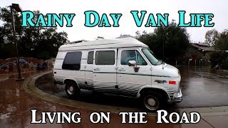 Rainy Day Van Life - Living on the Road