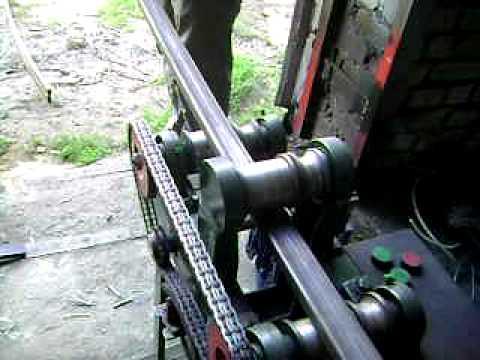 Гибка трубы 30х30.AVI