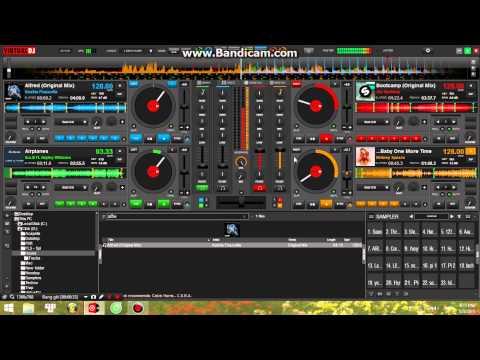 Virtual Dj 8 (4 decks) - House Mix