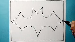 Cool 3D Bat Pattern / Satisfying Line Illusion Drawing / Daily Art Therapy / Day 0143