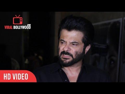 Anil Kapoor Full Interview | Neerja Screening | Viralbollywood