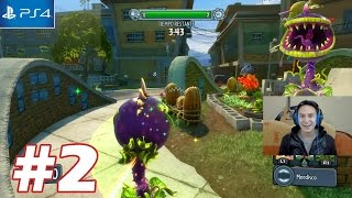 Planta Carnivora - Plantas vs Zombies Garden Warfare PS4 - Parte 2