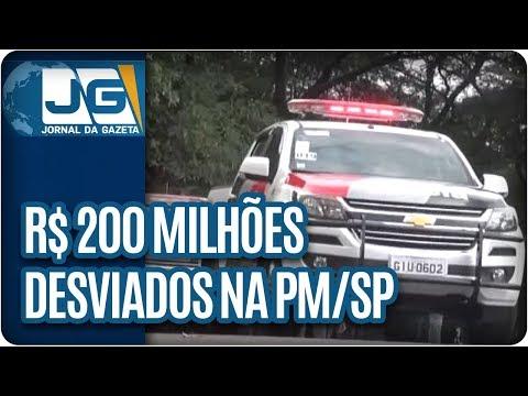 R$ 200 milhões desviados na PM/SP