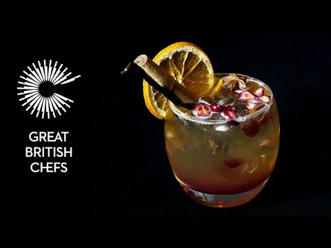 The Modern Pantry's Christmas pudding cocktail