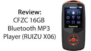 Download Lagu Review: CFZC 16GB Bluetooth MP3 Player (RUIZU X06) Gratis STAFABAND