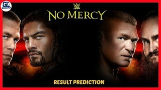 No Mercy 2017 Highlights Result Predictions