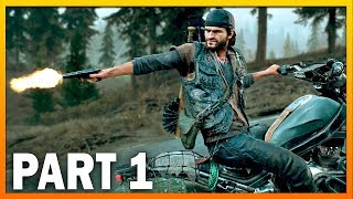Days Gone Gameplay Wallkthrough Part 1 - Surviving The Hordes [PS4 Pro 1440p]