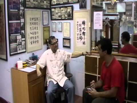 WING TSUN LEUNG TING INTERVIEW IN HONGKONG PART 1