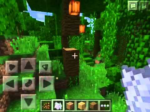 Minecraft PE: Super awesome jungle seed!