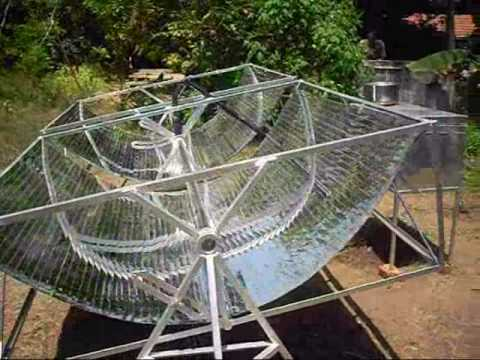 how to prepare solar cooker