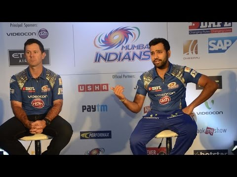 What Rohit Sharma said about Ricky Ponting ? Watch Here