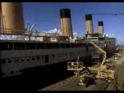 Titanic set de filmacion youtube - Construccion del titanic ...