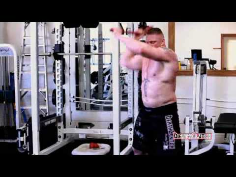 Brock Lesnar Cardio and Conditioning