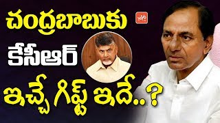 KCR Gift to Chandrababu | Telangana Elections | AP Elections | Otuku Note Case