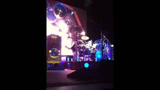 Neil Peart Drum Solo - Time Machine - FRONT ROW!