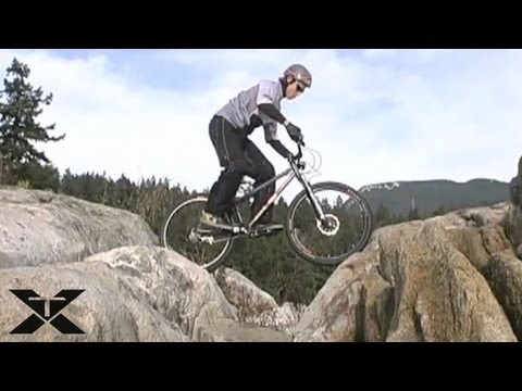 Mountain Bike Trials - Rocking