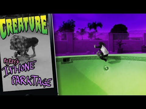 Creature Skateboards: RyRey's Phone Parktage