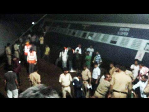 10 Bogies of 2 passenger trains fall into river in Madhya Pradesh