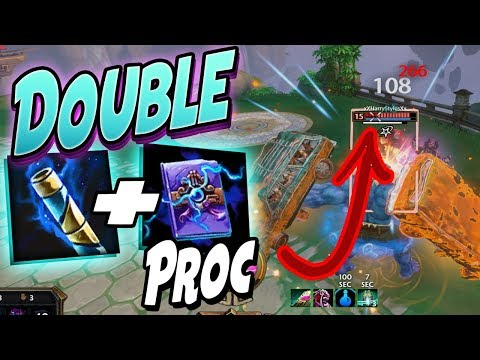 Smite: Double Soul Reaver and Ethereal Staff Combo - Joust 3v3 - HE JUST LOST ALL OF HIS HP!