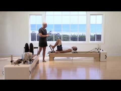 Anthony Lett Pilates Reformer Stretch Class