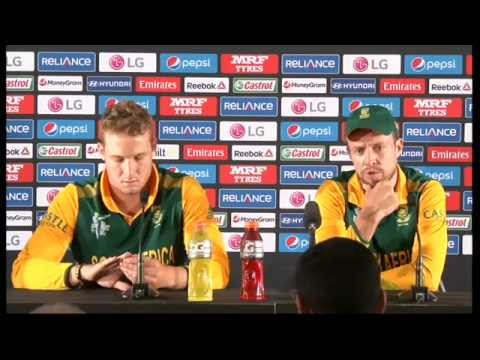 Live Post Match Press Conference South Africa v Zimbabwe - Hamilton