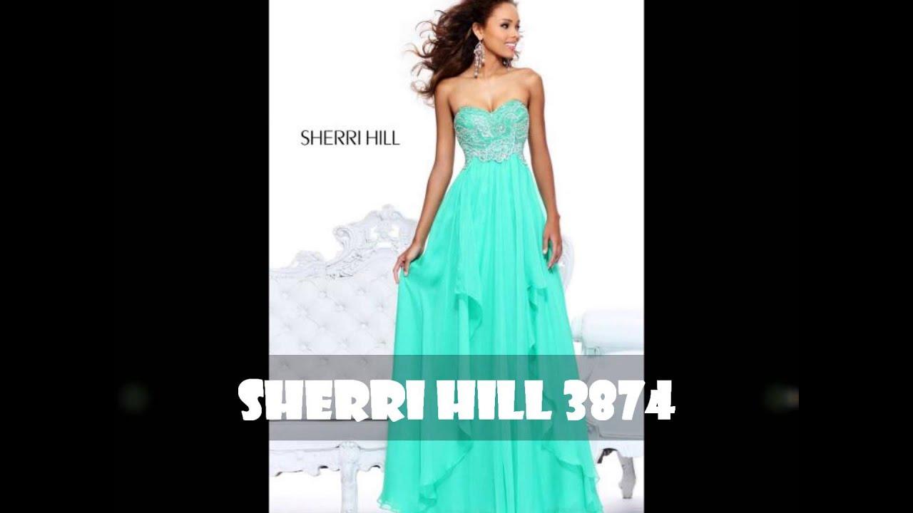 Mint Green Prom Dress 2013 Sherri Hill 3874   Prom Dress