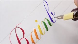 Awesome Modern Calligraphy Compilation