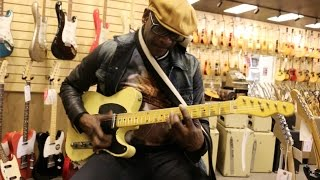 The funkiest guitarist Tony Maiden (Rufus) playing our Nash T-52 here at Norman's Rare Guitars