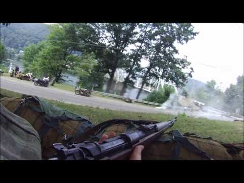 Tidioute Remagen Reenactment - Helmet Cam - Part 2