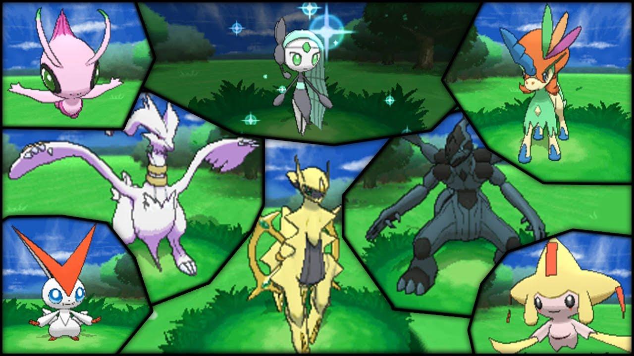 Pokémon X and Y | Shiny-Locked Legends - YouTube