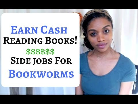 Get Paid To Read & Review Books. Up To $60 Per Read! **Side Hustle For Bookworms**