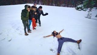 Crazy snow dares..