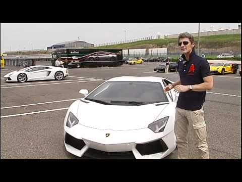 Lamborghini Aventador at Vallelunga - Stephan Winkelmann (Part 9)