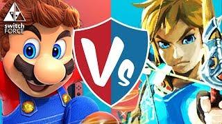 THE BEST SWITCH GAME IS...? Super Mario Odyssey vs. Zelda Breath of the Wild