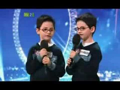 Britains Got Talent - Gary and Vinny ( Breaking Free)