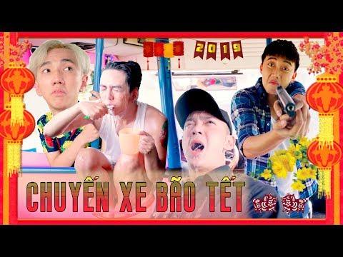 HÀI TẾT 2019 | Chuyến Xe Bão Tết : Tập 2 - Ginô Tống, Kim Chi, Lục Anh, Bé Chanh, Lâm Á Hân