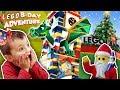 LEGOLAND CHRISTMAS! Shawns 3rd Birthday Lego Adventure #1 (FUNnel Family)