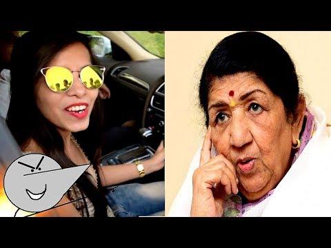 Lata Didi Reacted On Dhinchak Pooja Songs