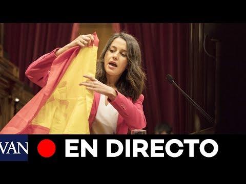 EN DIRECTO: Último pleno de Inés Arrimadas en el Parlament de Catalunya